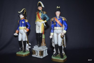 Napoleon and decorative military objects