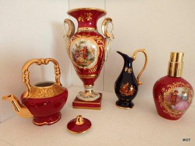 Limoges Лиможский фарфор Витринная посуда бибелот Кукольная посуда