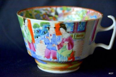 Chine. Canton. Чайные пары «Розовый Мандарин»