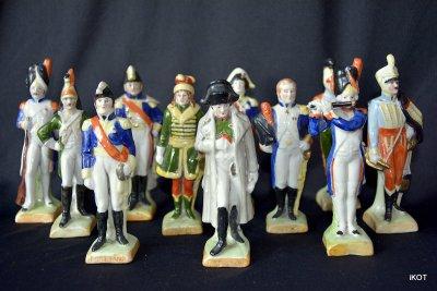 Наполеон и армейские офицеры 11 фигур