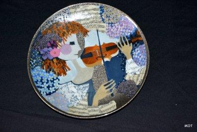 Тарелка N 1416 «Соло для скрипки» «Solo für Violine»