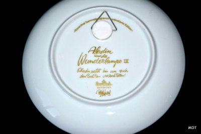 Rosenthal Plates The Magic Lamp of Aladdin