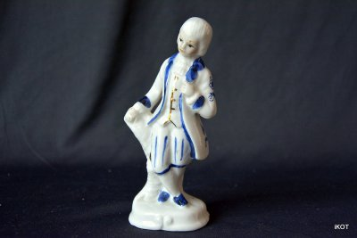 "vintage porcelain figures ""Victorian style"""