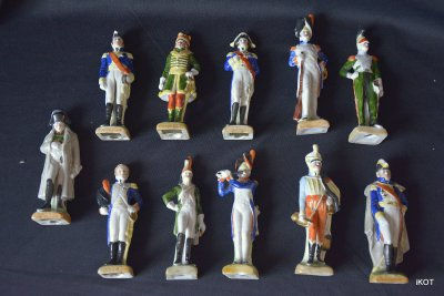 "Scheibe Alsbach ""Napoleon & army officers"""