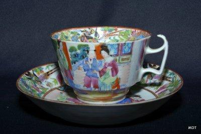 Chine Canton Чайные пары «Розовый Мандарин»