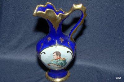 Лиможский фарфор ваза Наполеон