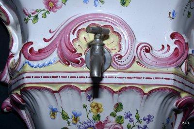 Rouen Руанский фаянс Набор «Cадовый фонтанчик»