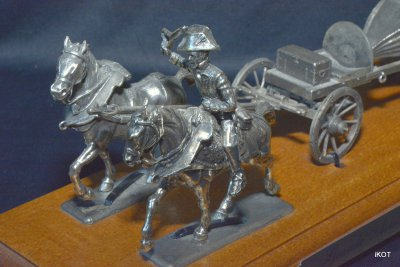 Tin model Great army of Napoleon
