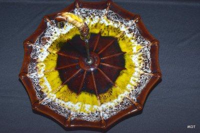 Vallauris Plate-tray Umbrella Parisian Autumn