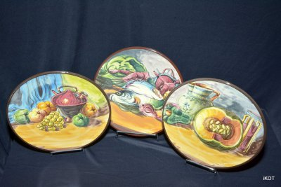 "декоративные тарелки Platart ""Натюрморты с рынка»"