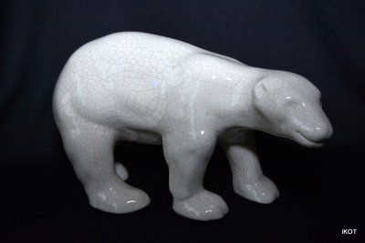 "Porcelain figure ""White bear"""