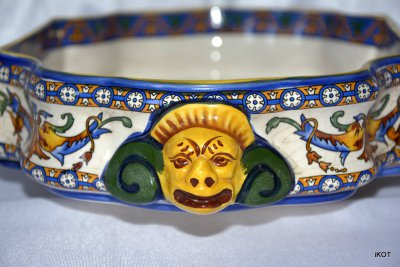 faience Decorative bowl Renaissance