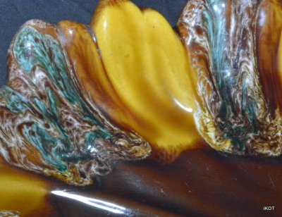 Vallauris. Большая ваза-лоток «Подсолнух»