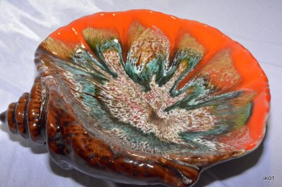 "Vallauris. Plate-tray Shell ""Sunshine"""