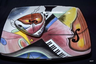 "Сeramic set ""Jazz"""