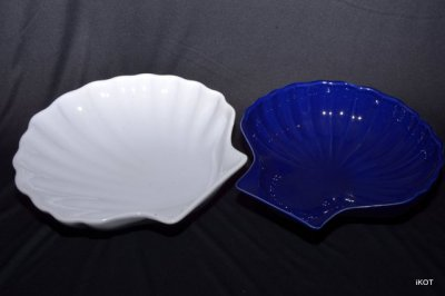 "Emile Henry. Two tray for jewelry ""Shells"""