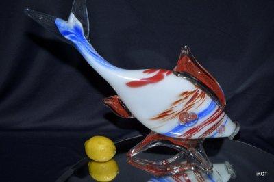 "Murano. Фигура ""Трехцветная Рыба"""