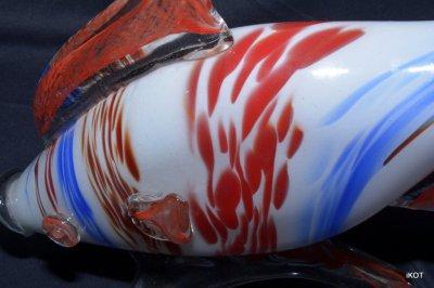 "Murano. Figure ""Threecolor Fish"""