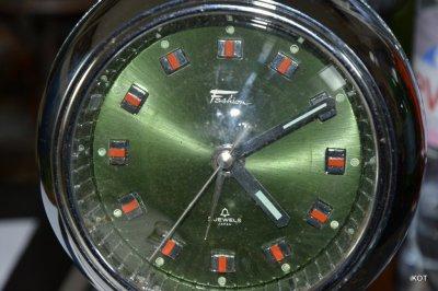 "Vintage table clock ""Fashion"" Japan"