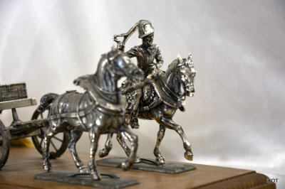 "Tin model ""Great army of Napoleon"""