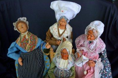 Simone Jouglas Куклы Бабушки Сантож