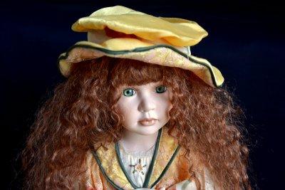Мастерская кукол C.Bernaert кукла Беатрис