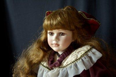 Мастерская кукол C.Bernaert кукла Мирабель