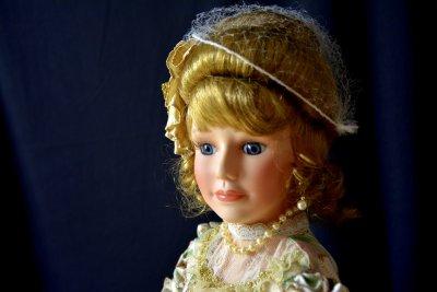 """Кукла в одеждах Викторианской эпохи Кукла """"Дева с Ридикюлем"""""""