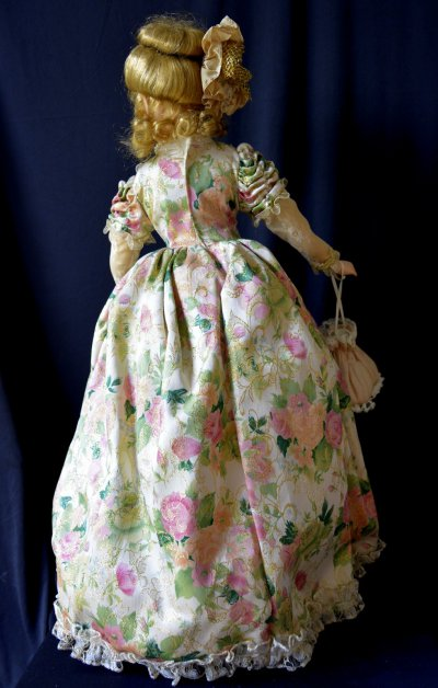 """Doll """" Mademoiselle with Reticule"""""""