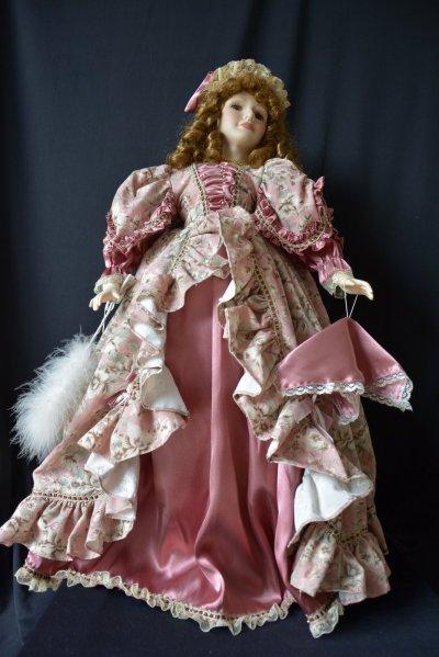 """Кукла в одеждах Викторианской эпохи Кукла """"Дева в Шляпке"""""""