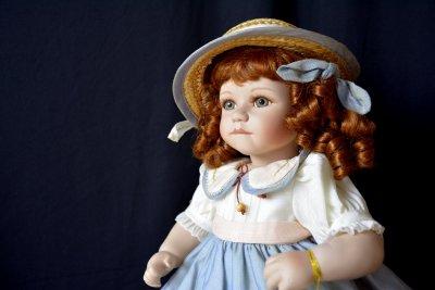 Кукла Valentine мастерская Bernaert Christiane