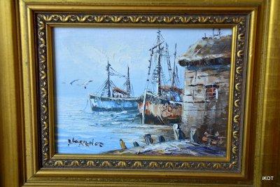 Рainting Fisheman wharf