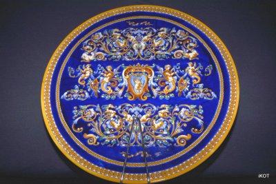 Gien Decorative plateau Cupid