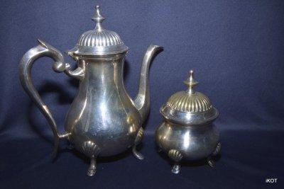 Aнтикварный Набор посеребренный два предмета Англия  Шеффилд 19 век