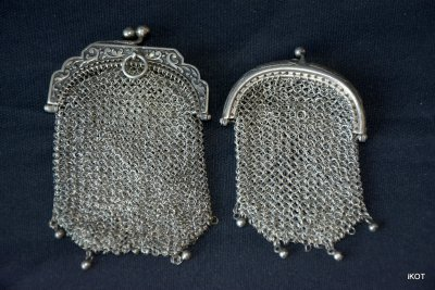 "Antique French Chain purse ""Lovely things"""