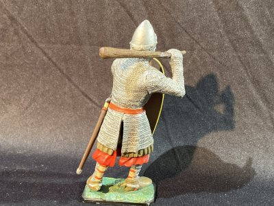 12 figures of world ancient warriors