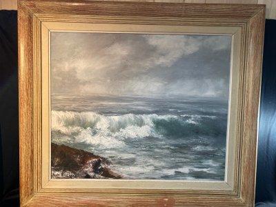 Франция. Картина «Край океана»