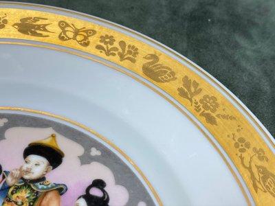 "Royal Copenhagen. 6 тарелок ""Сказки Андерсена"""