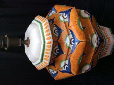 Италия. Напольная или настольная лампа