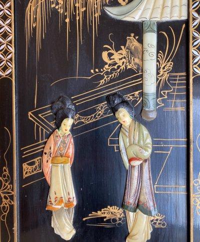 Индокитай. Панно «Две женщины»