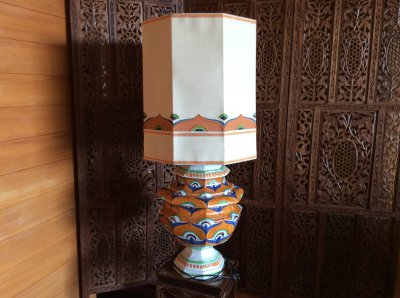 Italia. Tall table or floor lamp