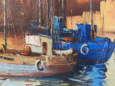 Картина «Ля Рошель. Грозовой закат»