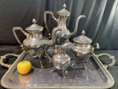 Tea and coffee service. Style Empire