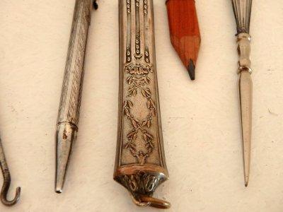 Антикварный набор для рукоделия Франция