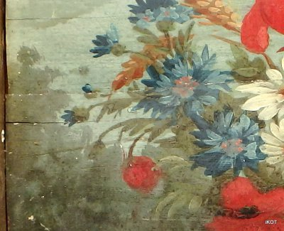 Antique painting Flowers