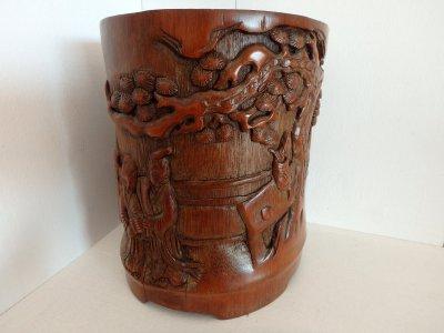 Индокитай бамбуковая ваза Фруктовый сад