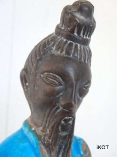 "Figure ""Chinese man with Sanxian"""
