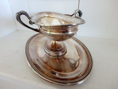 Сhristofle paris france silver Gravy-boat Elegant 19 century