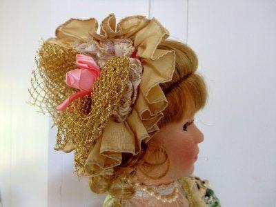 Кукла в одеждах Викторианской эпохи Кукла Дева с Ридикюлем