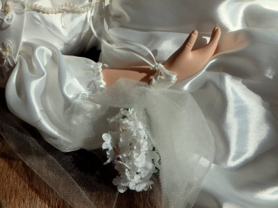Кукла в Свадебной одежде Шарлотта